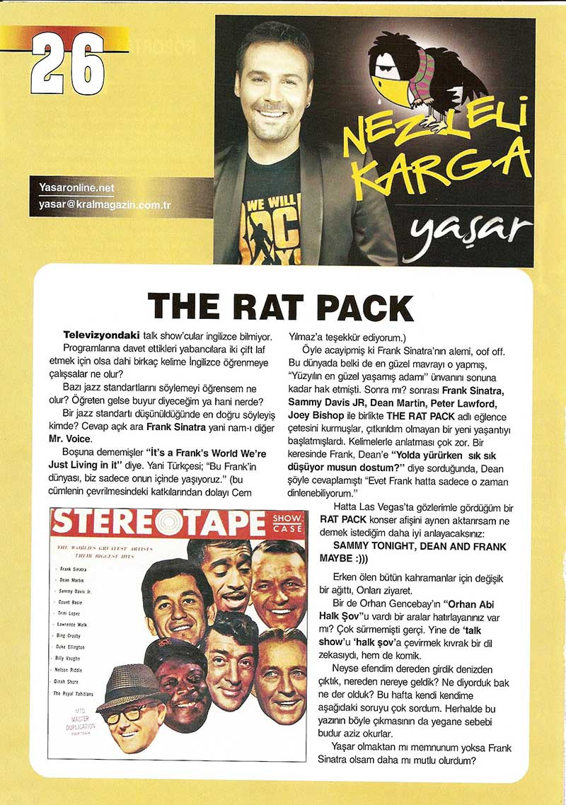 The Rat Pack – 11.04.2007